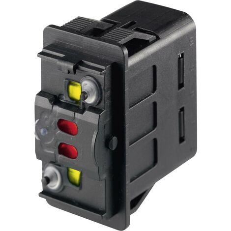 Marquardt Interrupteur à bascule pour lautomobile 3250.0574 12 V/DC 10 A 2 x (On)/On/(On) à rappel IP66/IP67 1 pc(s)