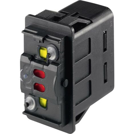 Marquardt Interrupteur à bascule pour lautomobile 3250.0577 24 V/DC 10 A 2 x (On)/On/(On) à rappel IP66/IP67 1 pc(s)