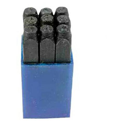 Marque à frapper : chiffres - Dim. 10 mm