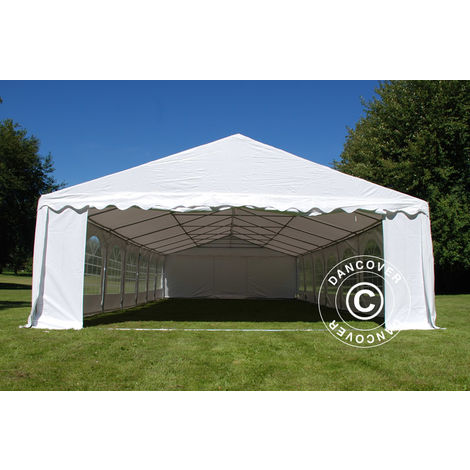 """main image of """"Marquee Party tent Pavilion Exclusive 6x12 m PVC, White"""""""