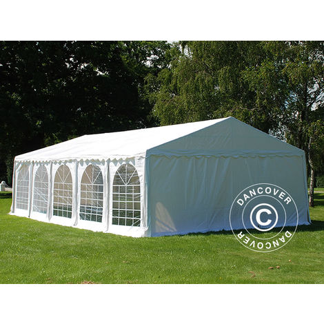 Marquee Party tent Pavilion, Exclusive CombiTents® 6x10 m, 3-in-1, White