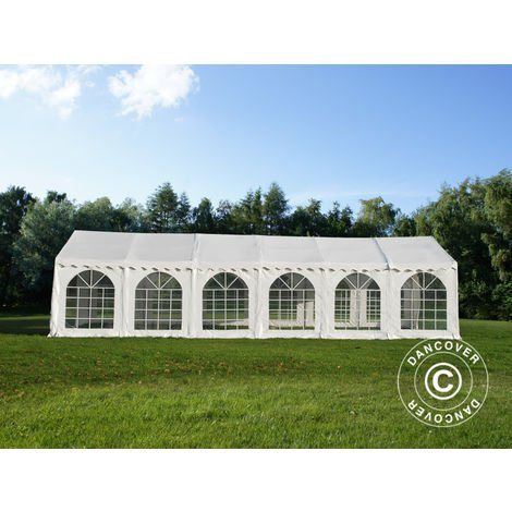 Marquee Party tent Pavilion, Exclusive CombiTents® 6x12 m 4-in-1, White