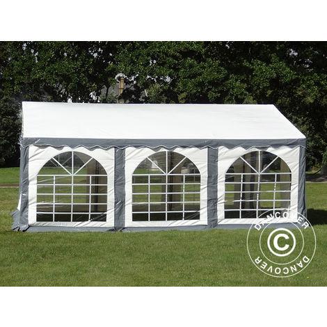 Marquee Party tent Pavilion Original 3x6 m PVC, Grey/White