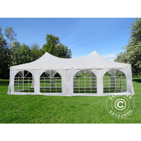 Marquee Party tent Pavilion Pagoda 4x8 m, White