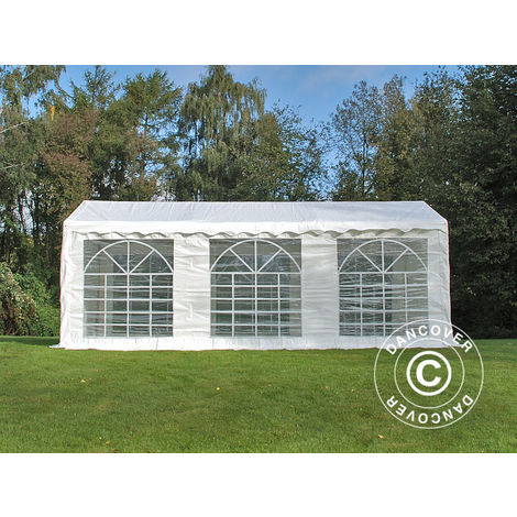 Marquee Party tent Pavilion PLUS 3x6 m PE, White