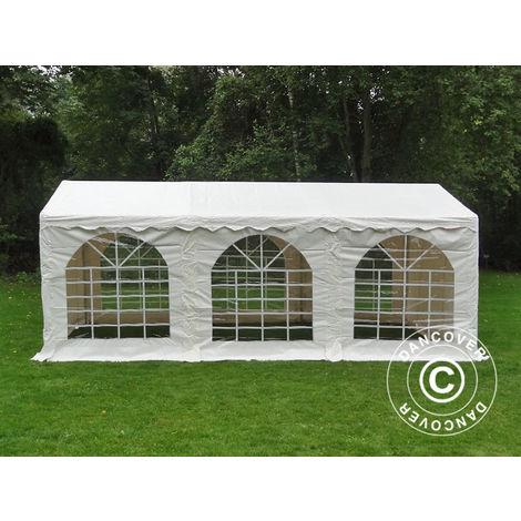 Marquee Party tent Pavilion SEMI PRO Plus 3x6 m PVC, White