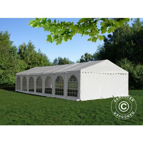 Marquee Party tent Pavilion, SEMI PRO Plus CombiTents® 6x14 m 5-in-1, White