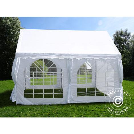 Marquee Party tent Pavilion UNICO 4x4 m, White