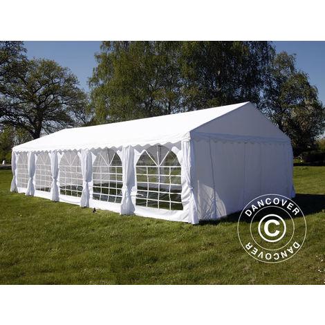 Marquee Party tent Pavilion UNICO 5x10 m, White