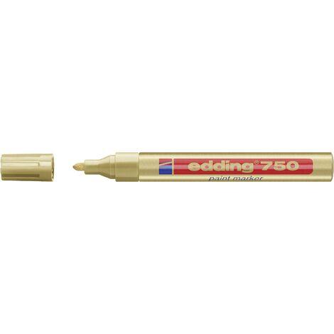 Marqueur Lackmarker 750 or largeur de trait 2 - 4 mm pointe ronde