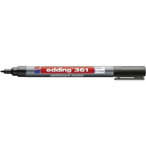 Marqueur tableau blanc Edding edding 361 4-361001 noir 1 pc(s) S204131