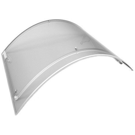 Marquise Léa (livraison offerte) - Coloris stucture - Aluminium, Longueur totale - 120 cm, Profondeur totale - 90 cm