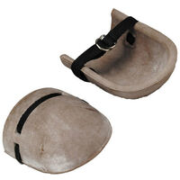 Marshalltown M823 Rubber Knee Pads With Webbed Straps