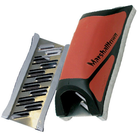 "Marshalltown MDR389 Drywall Rasp 5.1/2"" With Guide Rails Durasoft Handle"