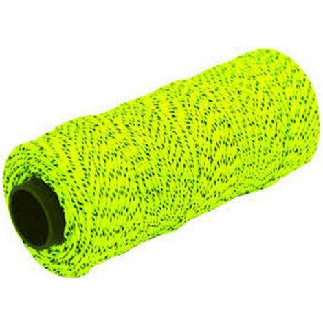 Marshalltown MLS613 Yellow And Black Braided Nylon Masons Brick Line 500' 152m