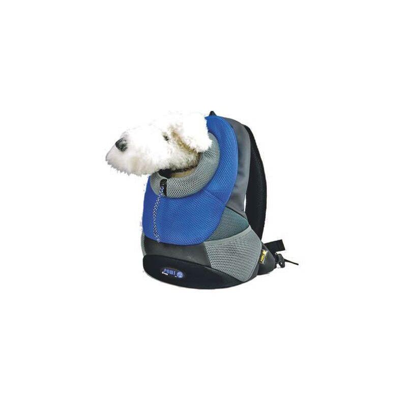 Marsupio per cane gatto zaino porta cane Blu fino a 4 kg cm 37 x 14 x 46,5 Nylon Base Poliestere