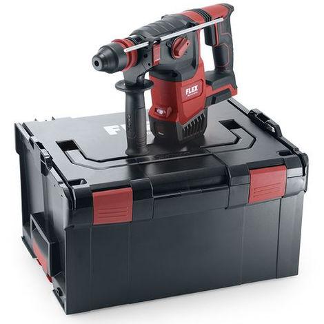 Marteau 18V SDS Plus CHE 2-26 18.0-EC FLEX - coffret + accessoires - sans batterie ni chargeur - 478482