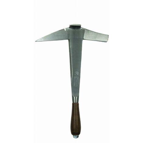 Marteau de couvreur DIMOS manche cuir pour gaucher panne longue - 135584