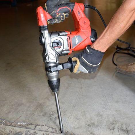 Comodidad de uso de un martillo perforador