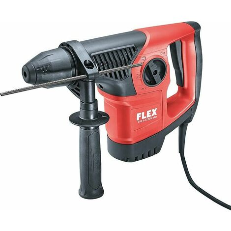 Marteau perforateur burnieur FLEX CHE 4-32 avec insert SDS-Plus, 900 Watts