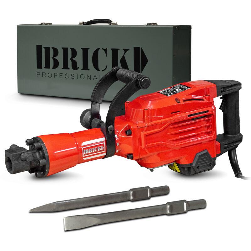 Brick MP1600-642MC Marteau piqueur 1600w Rouge