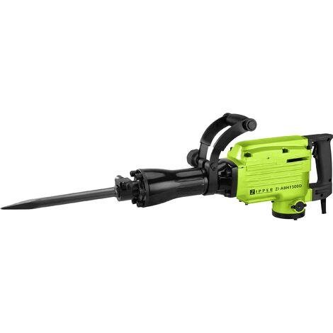 Marteau piqueur Zipper ZI-ABH1500D tige hexagonale 1500 W 45 J + mallette, + accessoires 1 pc(s) Y484921