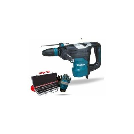 Martillo combinado HR4003C + Set demolición MAKITA PRK00275