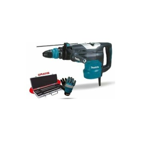 Martillo combinado HR5202C + Set demolición MAKITA PRK00276