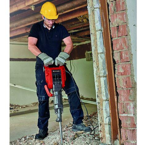 EPIs obligatorios al usar el martillo perforador