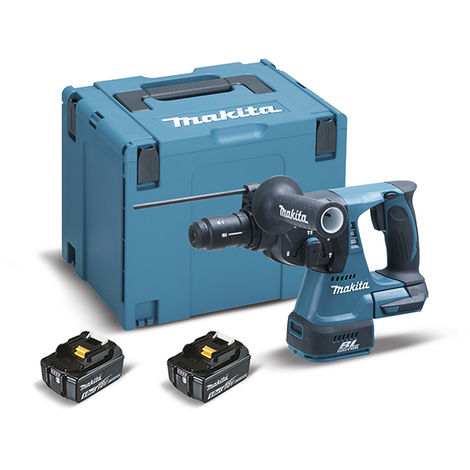 Martillo ligero 24mm 18V Litio 5,0Ah MakPac(2017) - MAKITA