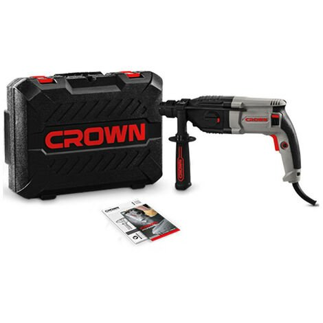Martillo percutor SDS-Plus CT18108BMC 800W 3,4J Crown