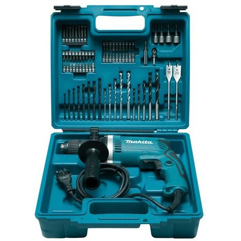 Martillo perforador MAKITA - 710W + kit de accesorios - HP1631KX3