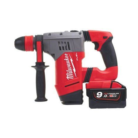 Martillo perforador MILWAUKEE M18-CHPX-902X - SDS-PLUS - 2 Baterías 18V 9.0Ah, en estuche - 4933451469