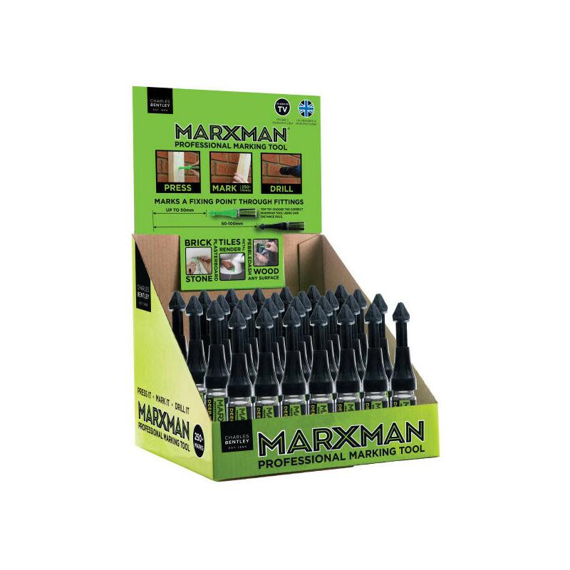 Image of MRXDEEP30GRN Deep Hole Professional Marking Tool (Pack of 30) - Marxman