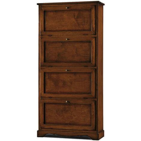 MARY - scarpiera in legno massello 79 x 30 x 170