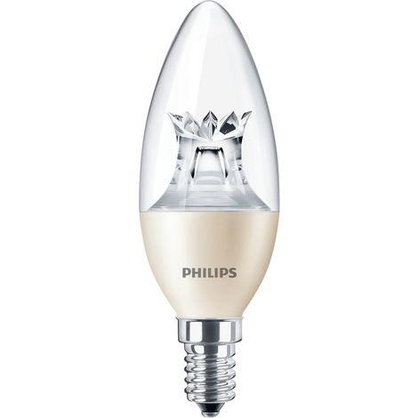 MAS LEDcandle DT 8-60W B40 E14 827 CL PHILIPS 55599600
