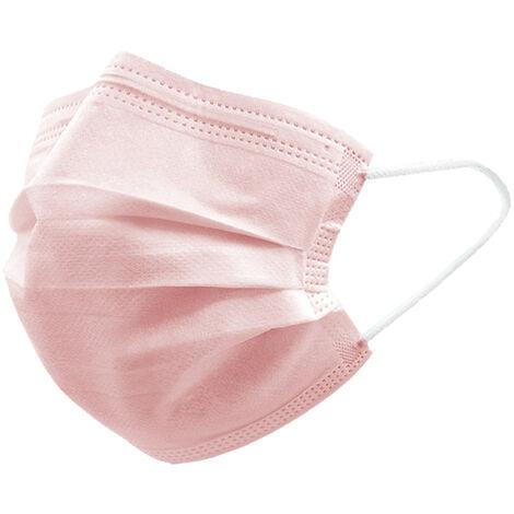Mascara 50PCS desechables, mascaras no tejidas, Mascara Sanitaria 3-capa comodo