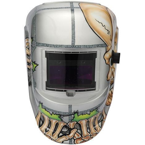 Mascara de soldador solar, soldadura Cap, con 2pcs Arco sensores, craneo