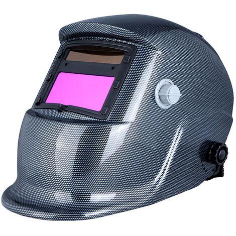 Mascara de soldadores de casco de soldadura con oscurecimiento automatico, Molienda de arco Tig Mig con energia solar