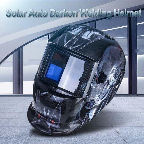 Máscara de soldadura automática Casco de soldadura eléctrica Oscurecimiento automático Soldadura TIG MIG
