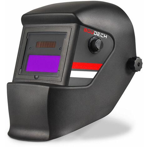 Máscara de soldadura automática con casco protector y pantalla de auto-oscurecimiento