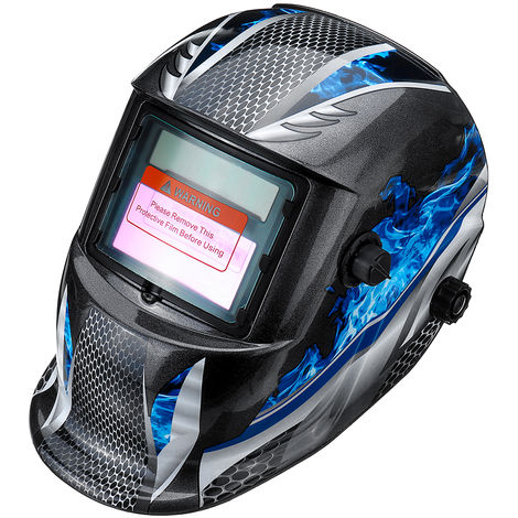 Máscara de soldadura Ennegrecimiento solar automático