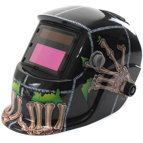 Máscara de soldadura solar con oscurecimiento automático ajustable para MIG MMA ARC TIG