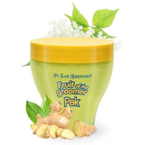 Mascara para perros | Fruit of the groomer Pek mascara Accion purificante | Mascara jengibre y sauco 250 ml
