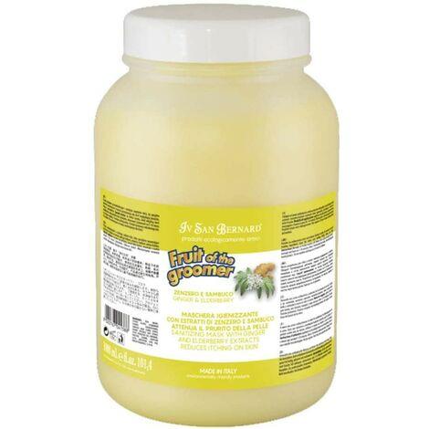 Mascara para perros | Fruit of the groomer Pek mascara Accion purificante | Mascara jengibre y sauco 3 litros
