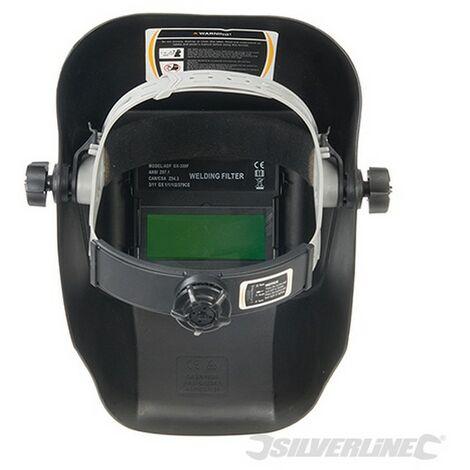 Máscara para soldar fotosensible (Opacidad DIN 3/11 EW)