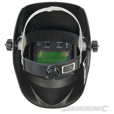 Máscara para soldar y amolar fotosensible (Opacidad 4/9-13 EW y amolar)