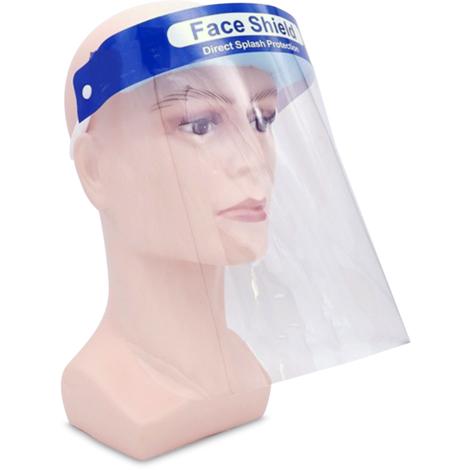 Mascara protectora de aislamiento, protector facial anti-saliva, 1PCS
