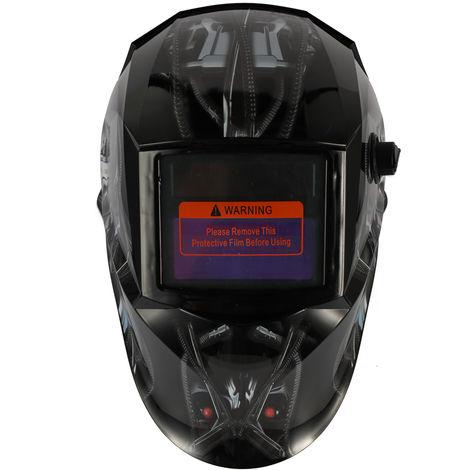 Mascara solar automatica de soldadura ligera, casco de soldadura por puntos