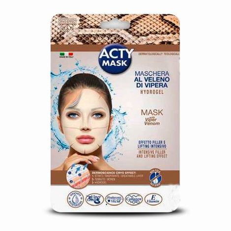 Mascarilla acty mask veneno serpiente lifting